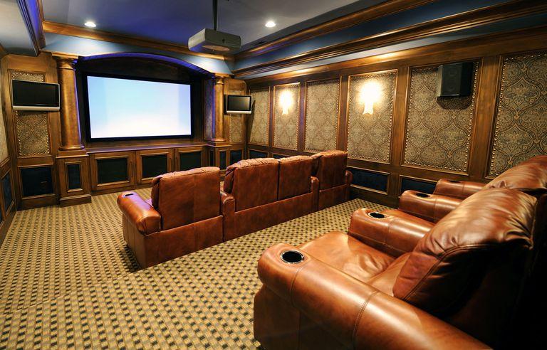 revisión de cine en casa