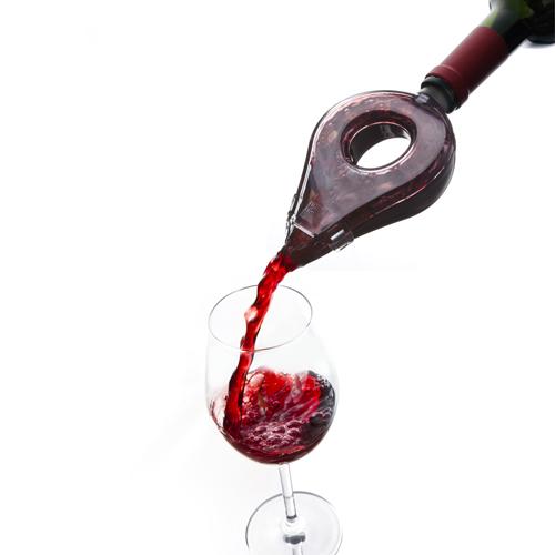 Revisión del aireador de vino